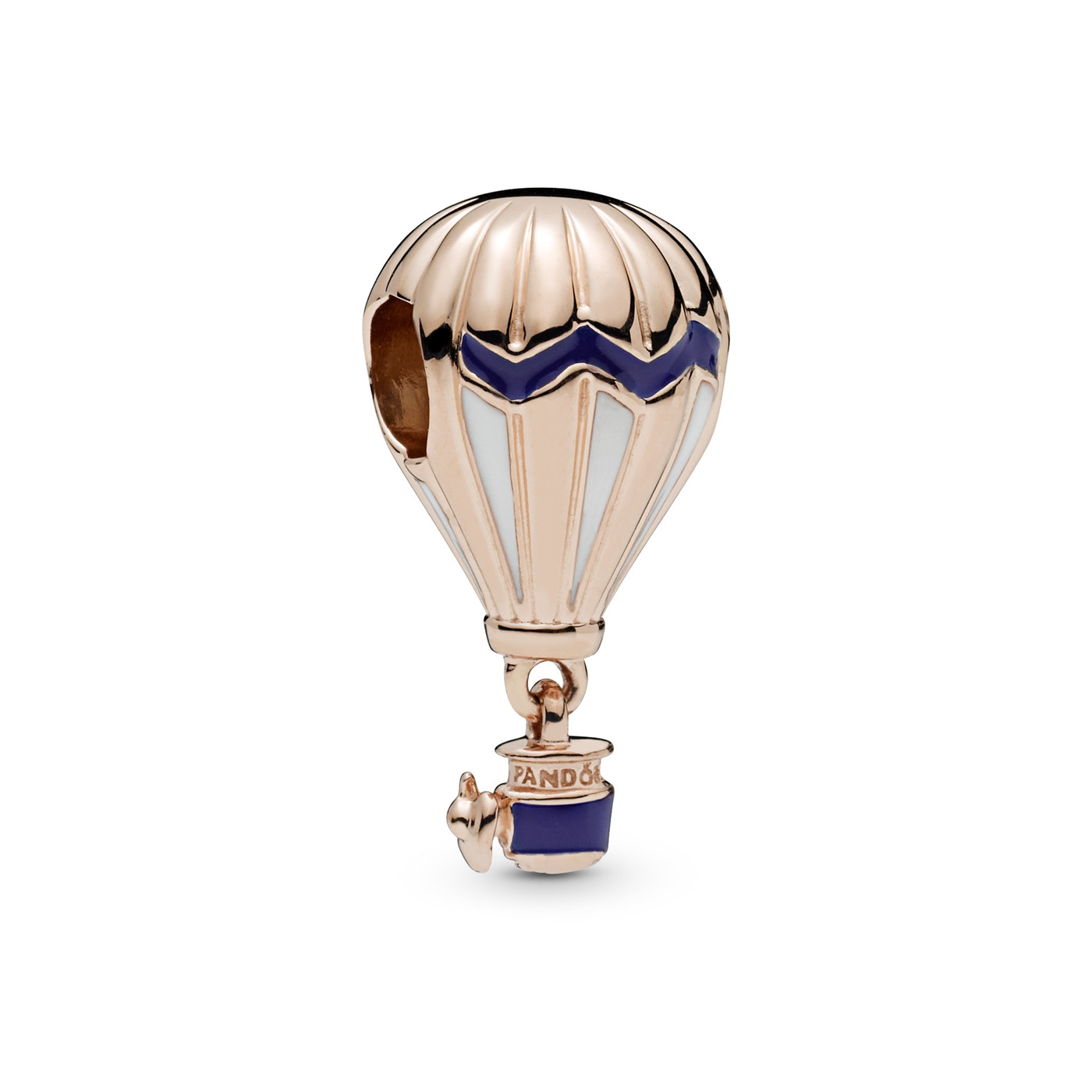 Pandora Moments 925 Sterling Zilveren Roségoudkleurige Air Balloon Bedel 788055ENMX