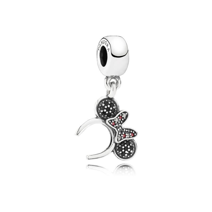 Pandora 925 Sterling Zilveren Disney Minnie Headband Bedel 791562NCK