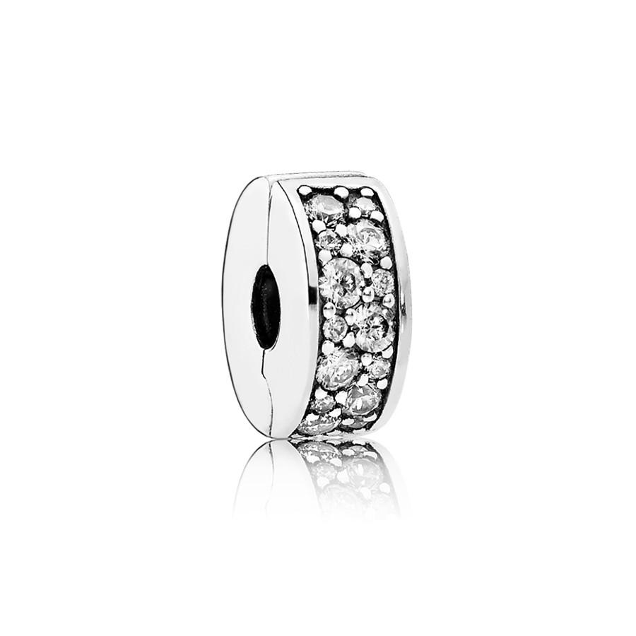 Pandora Zilveren Plaveien Bedel 791817CZ