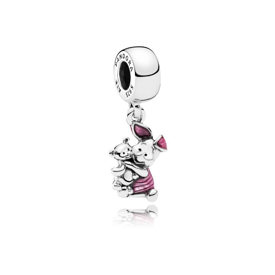 Pandora 925 Sterling Zilveren Disney Piglet Bedel 792134EN117