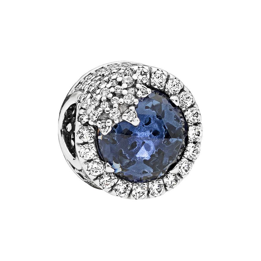 Pandora Moments Blue Dazzling Snowflake Bedel 796358NTB