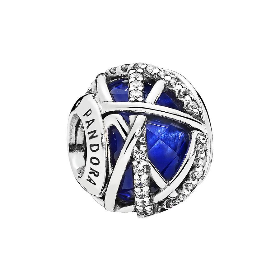 Pandora Moments Royal Blue Galaxy Bedel 796361NCB
