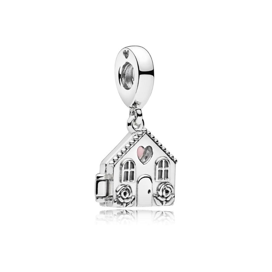 Pandora Moments Zilveren Perfect Home Bedel 797056EN160