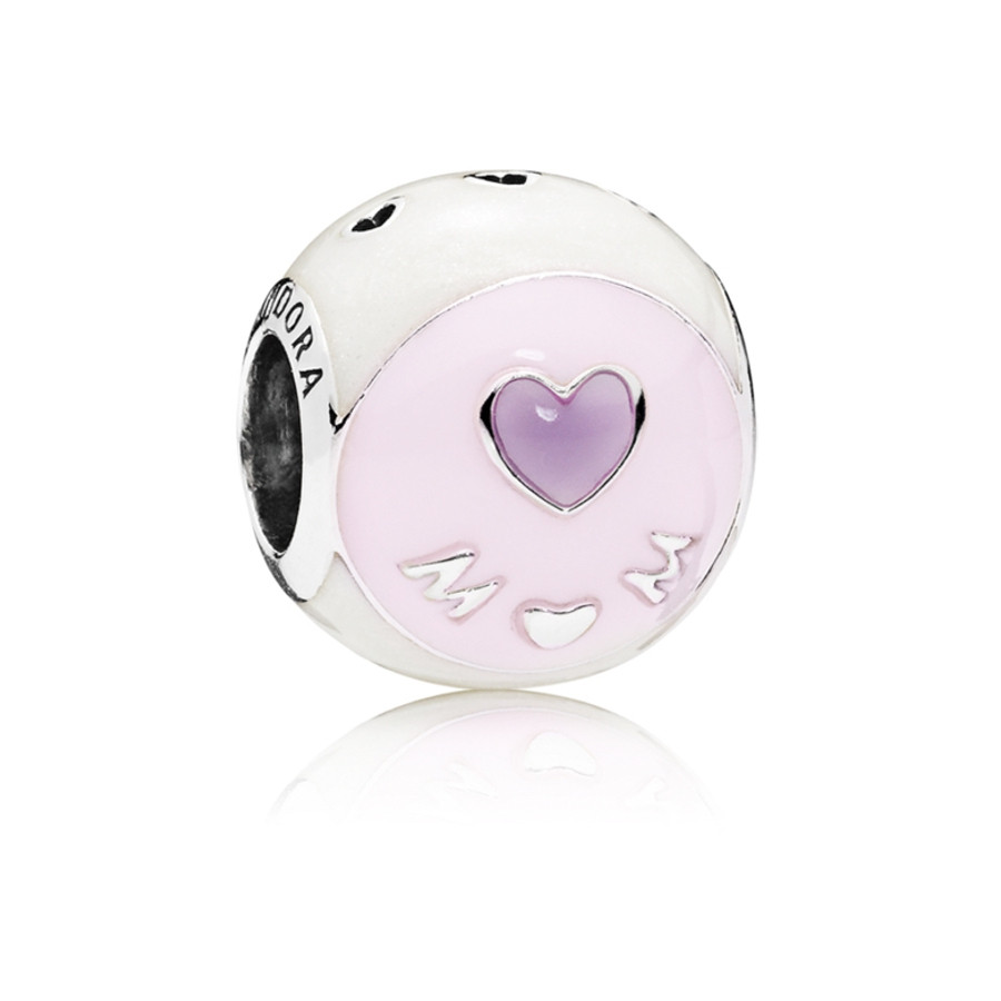 Pandora Moments Zilveren Love Mum Bedel 797057ENMX