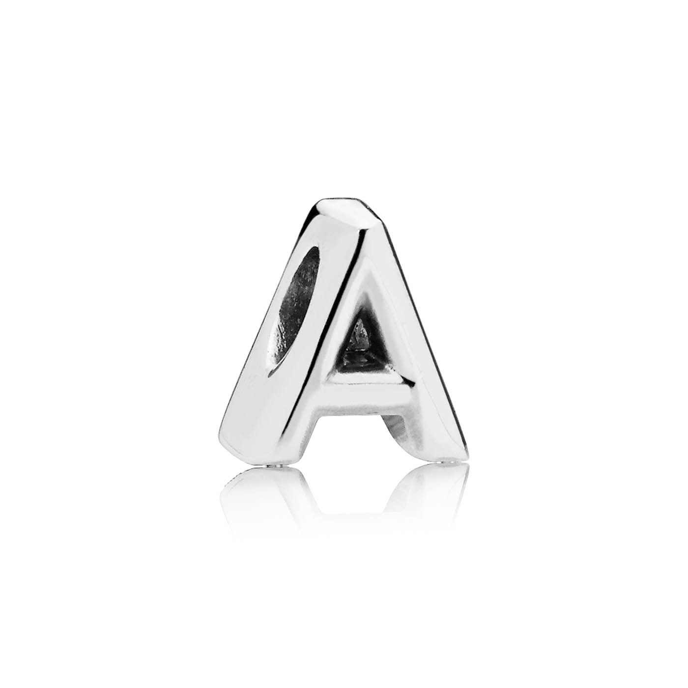 Pandora Moments 925 Sterling Zilveren Initial Bedel (Letter: A t/m Z)