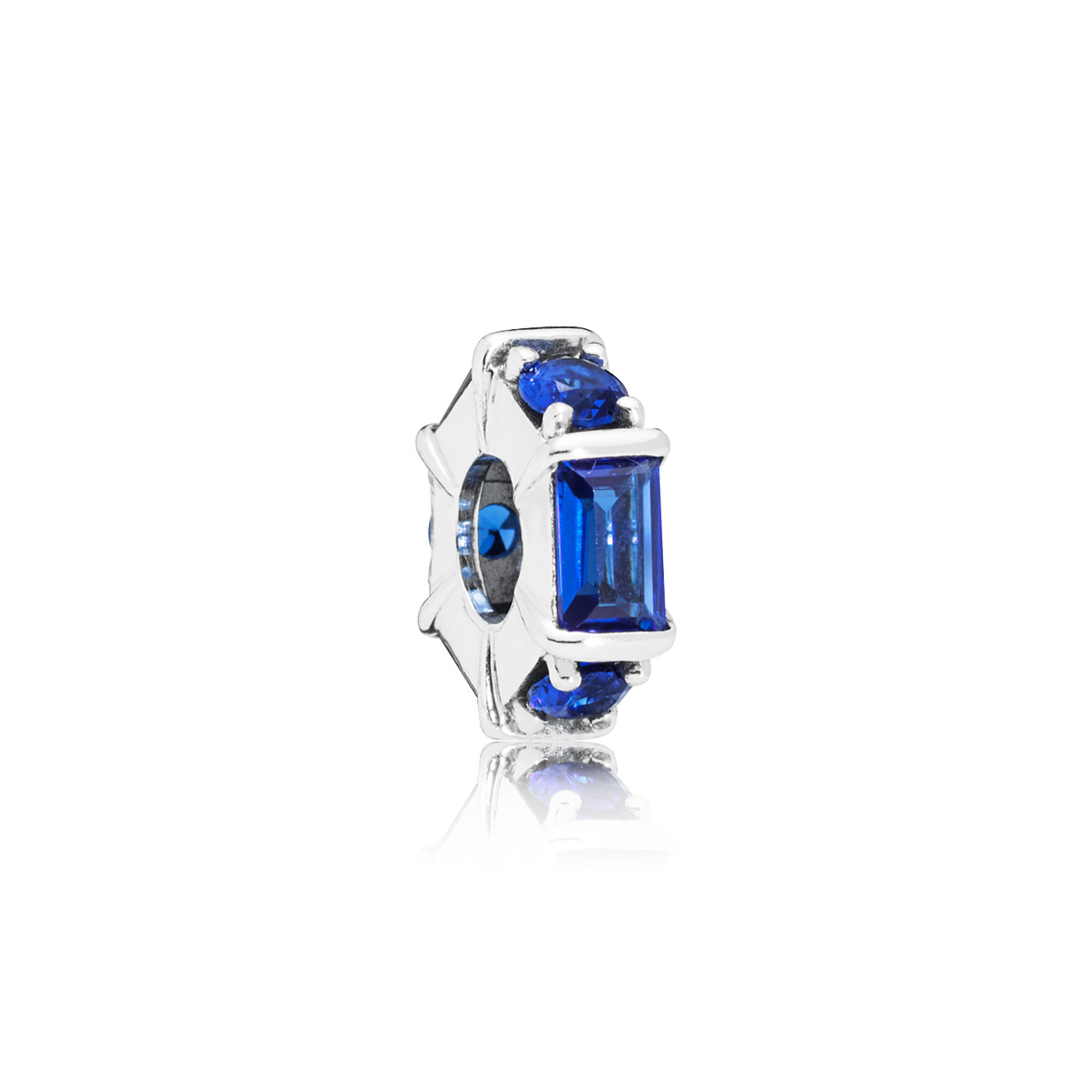 Pandora 925 Sterling Zilveren Ice Cube Spacer Bedel 797529NSBL