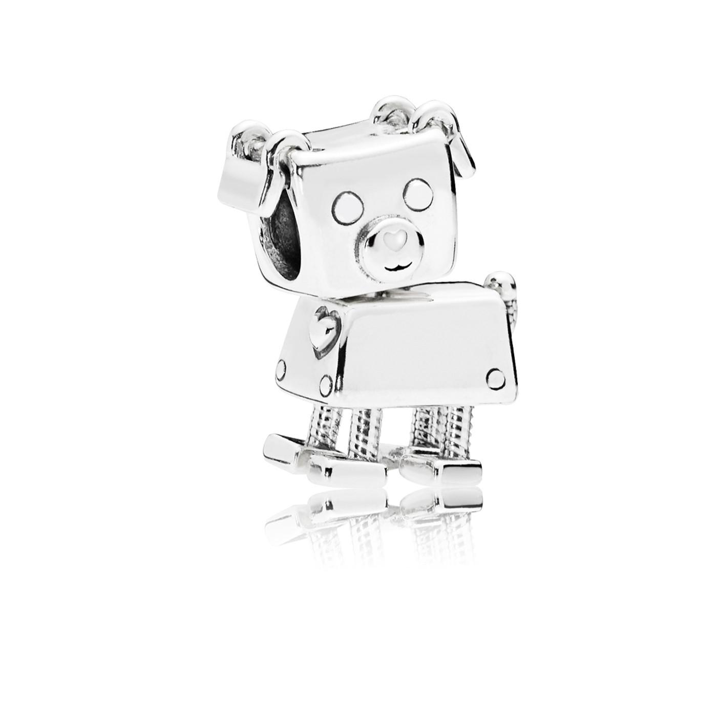 Pandora 925 Sterling Zilveren Robot Dog Bedel 797551EN12