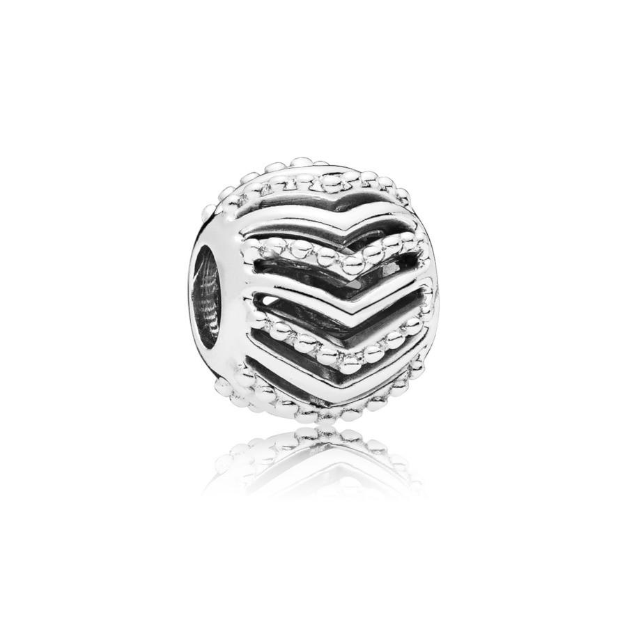 Pandora Moments 925 Sterling Zilveren Stylish Wish Bedel 797805