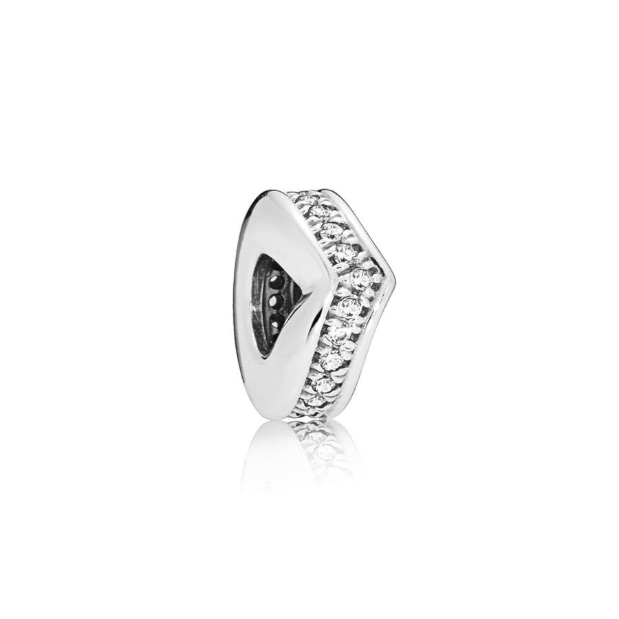 Pandora Moments 925 Sterling Zilveren Shimmering Wish Bedel 797808CZ