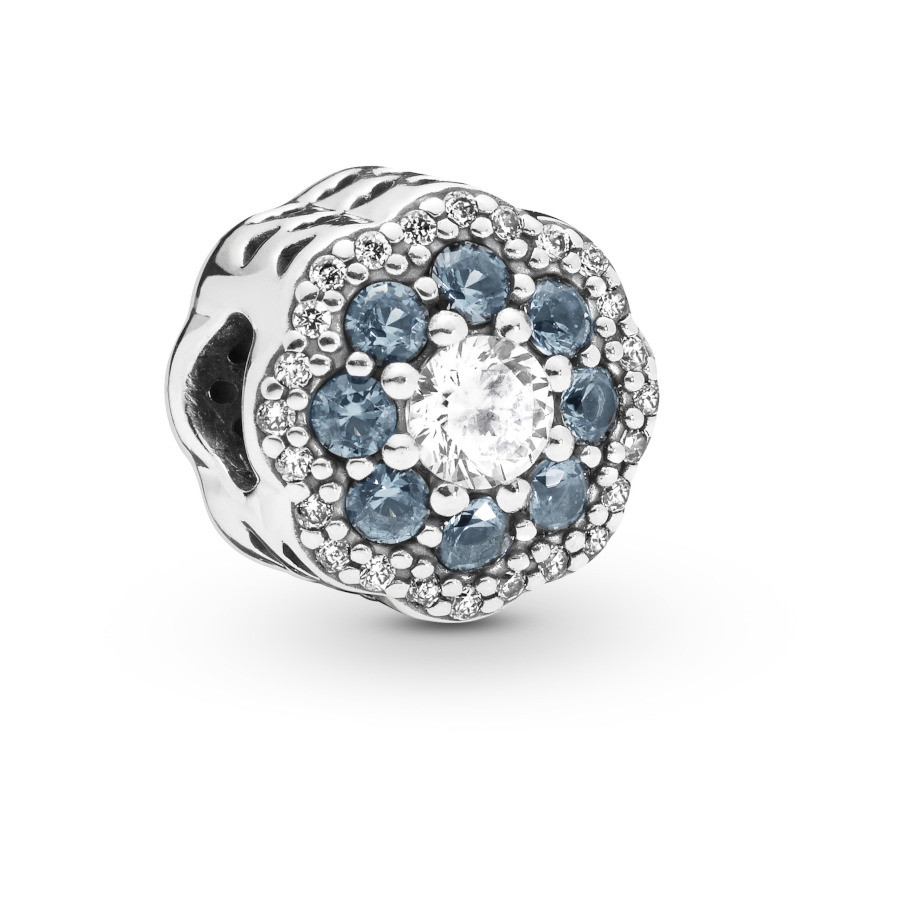 Pandora Moments 925 Sterling Zilveren Flower Bedel 797851NMB