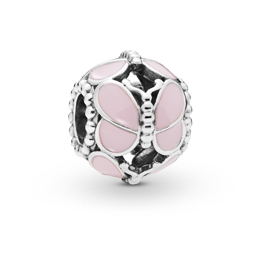Pandora Moments 925 Sterling Zilveren Butterfly Bedel 797855EN160
