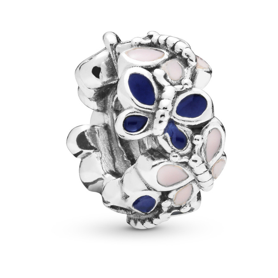 Pandora Moments 925 Sterling Zilveren Butterfly Bedel 797870ENMX
