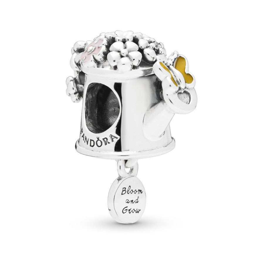 Pandora Moments 925 Sterling Zilveren Watering Can Bedel 797873ENMX