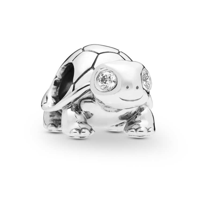 Pandora Moments 925 Sterling Zilveren Turtle Bedel 797878CZ