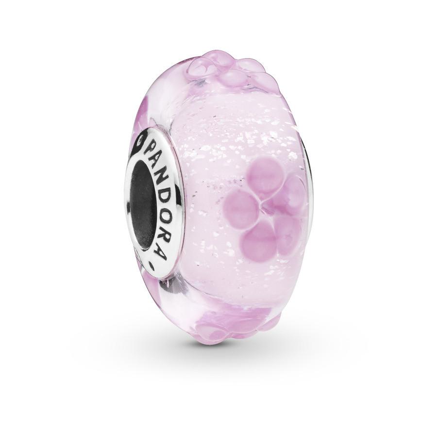 Pandora Moments 925 Sterling Zilveren Rosegoudkleurige Flower Bedel 797901