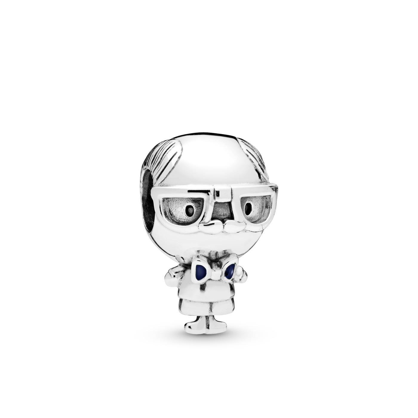 Pandora Moments 925 Sterling Zilveren Grandfather Bedel 798013EN188
