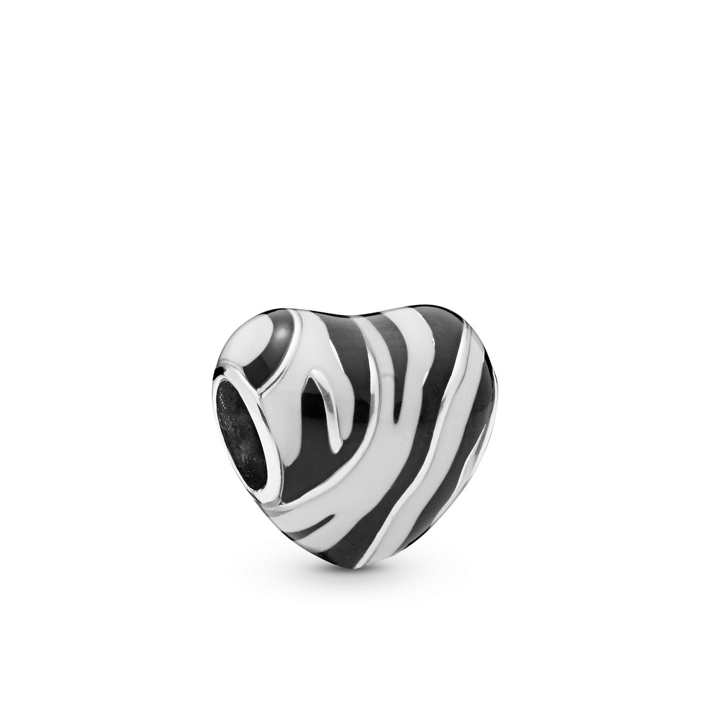 Pandora Moments 925 Sterling Zilveren Heart Bedel 798056ENMX