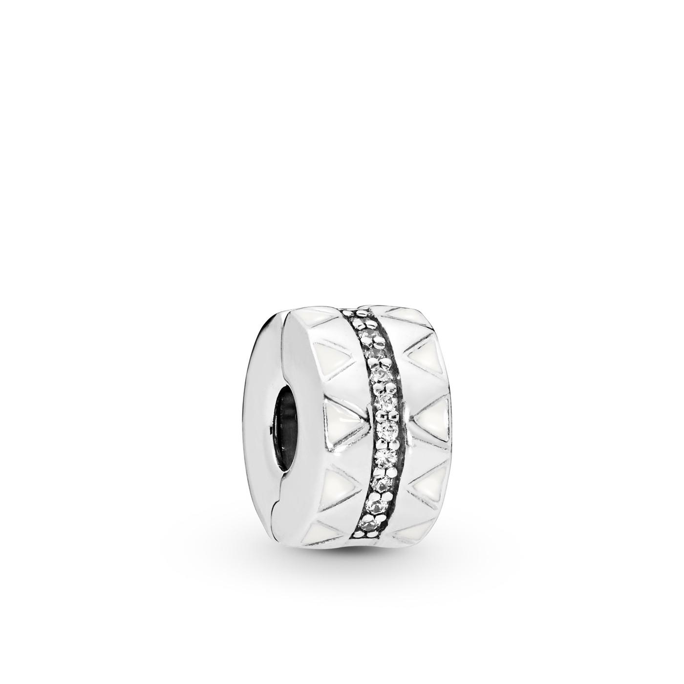 Pandora Moments 925 Sterling Zilveren Clip Bedel 798067CZ
