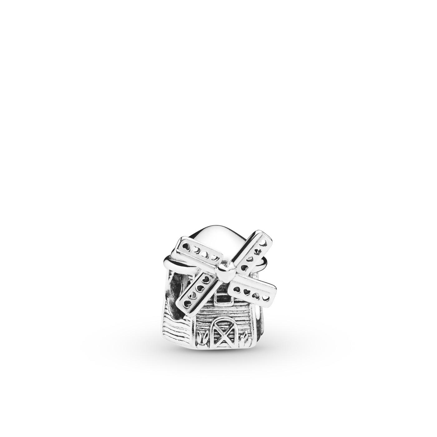 Pandora Moments 925 Sterling Zilveren Windmill Bedel 798126
