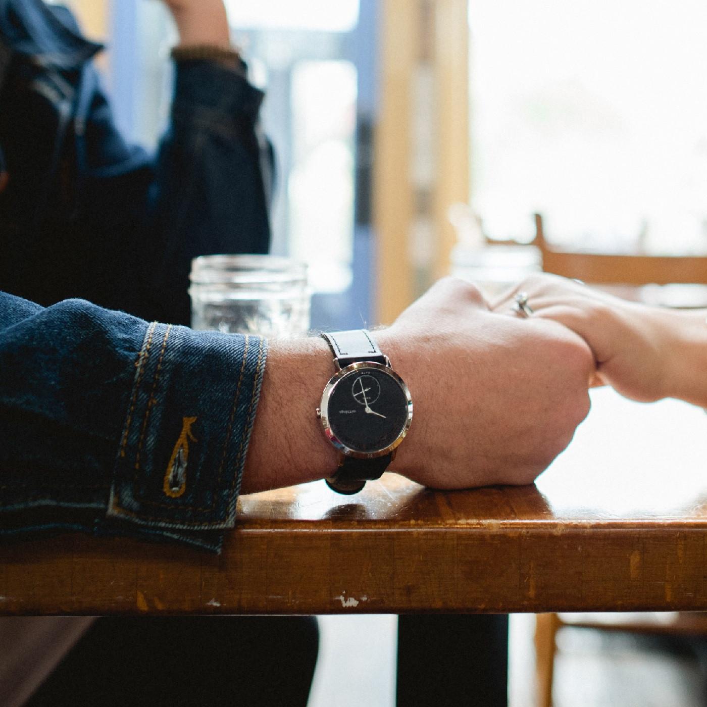 Withings Steel HR Hybrid Smartwatch 3077884