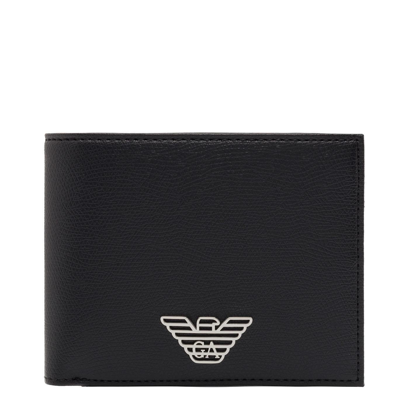 Emporio Armani Black Billfold Portemonnee Y4R165-YLA0E-81072