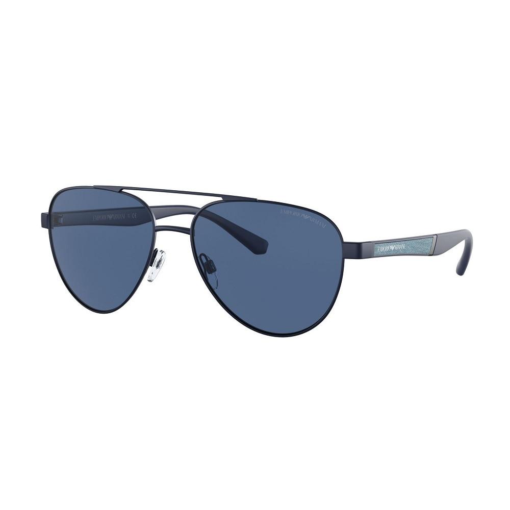 Emporio Armani Matte Blue Zonnebril EA210530188059