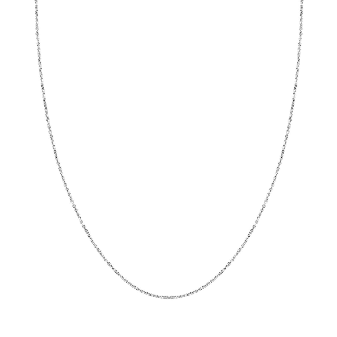 Blush 14 Karaat Witgouden Ketting 3046WGO (Lengte: 42.00-45.00 cm)
