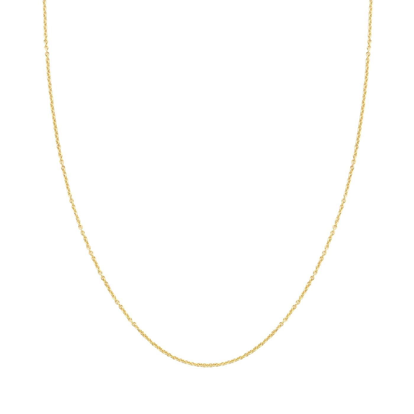 Blush 14 Karaat Gouden Ketting 3046YGO/42 (Lengte: 42.00-45.00 cm)