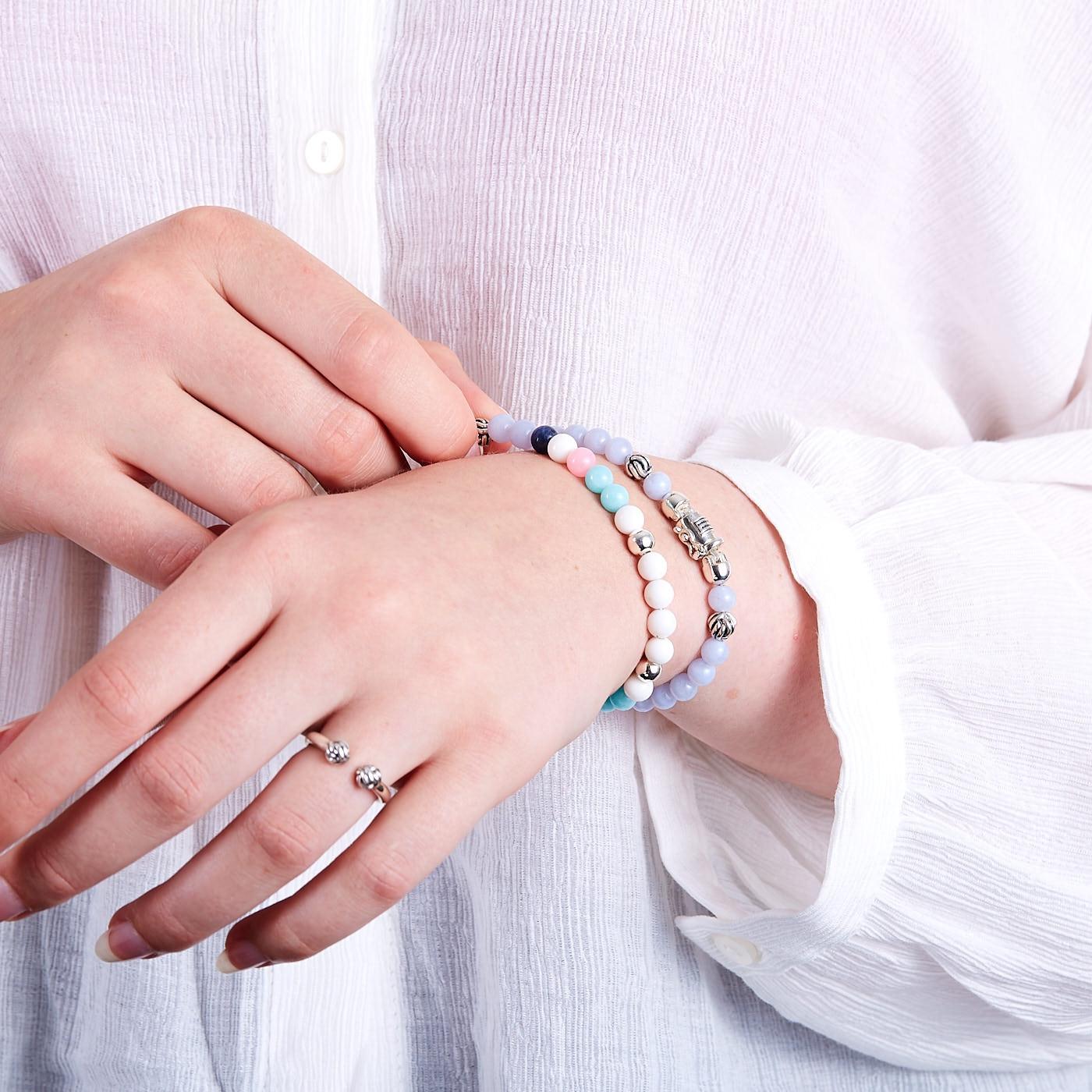Buddha to Buddha Spirit Bead Mini Mix Armband 189MIX (Lengte: 17.00-21.00 cm)