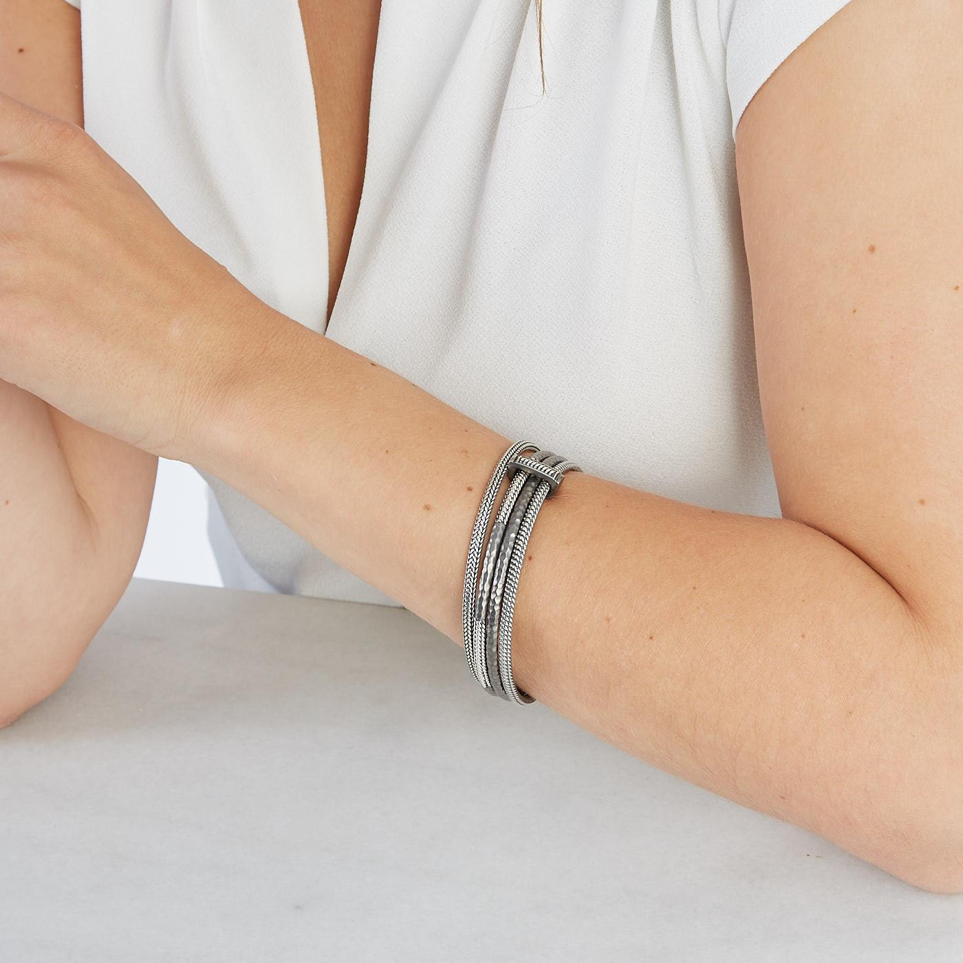 Buddha to Buddha 925 Sterling Zilveren Refined Dunia Armband 311