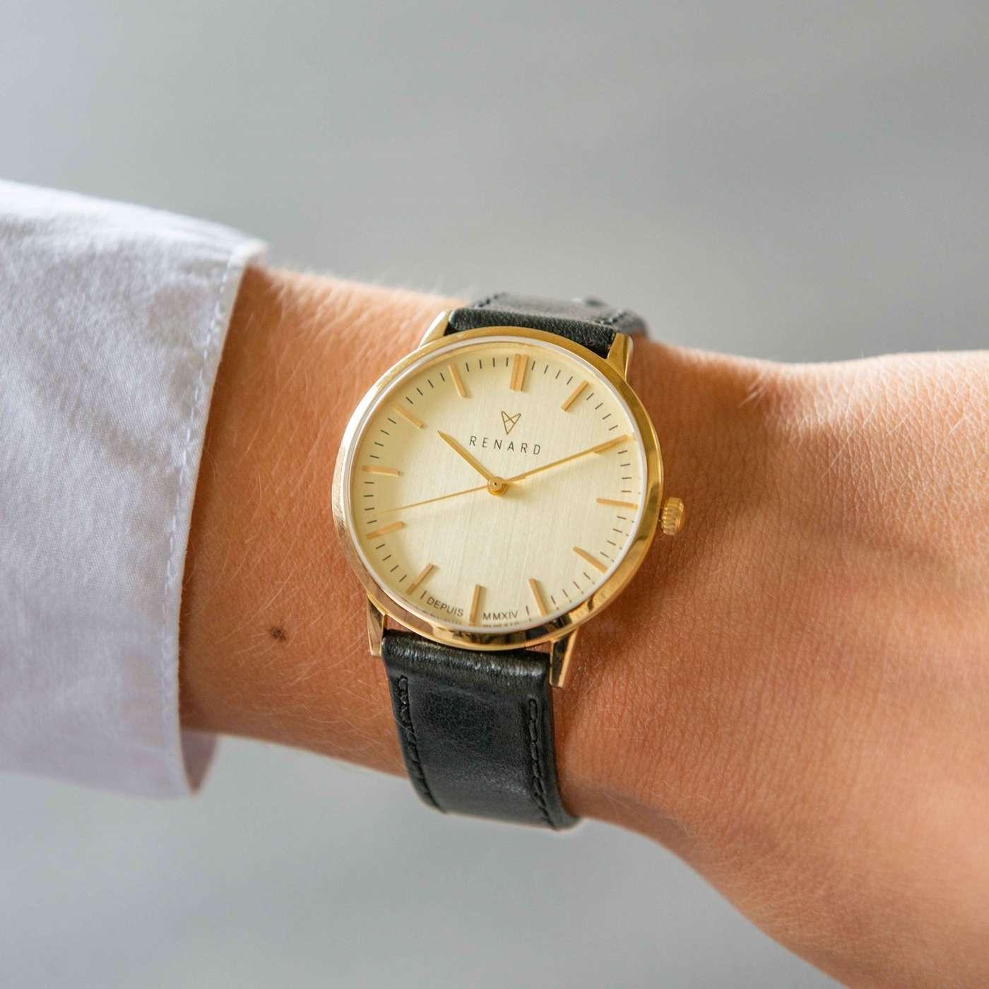 Renard Elite 35.5 horloge RA361YG11VBK