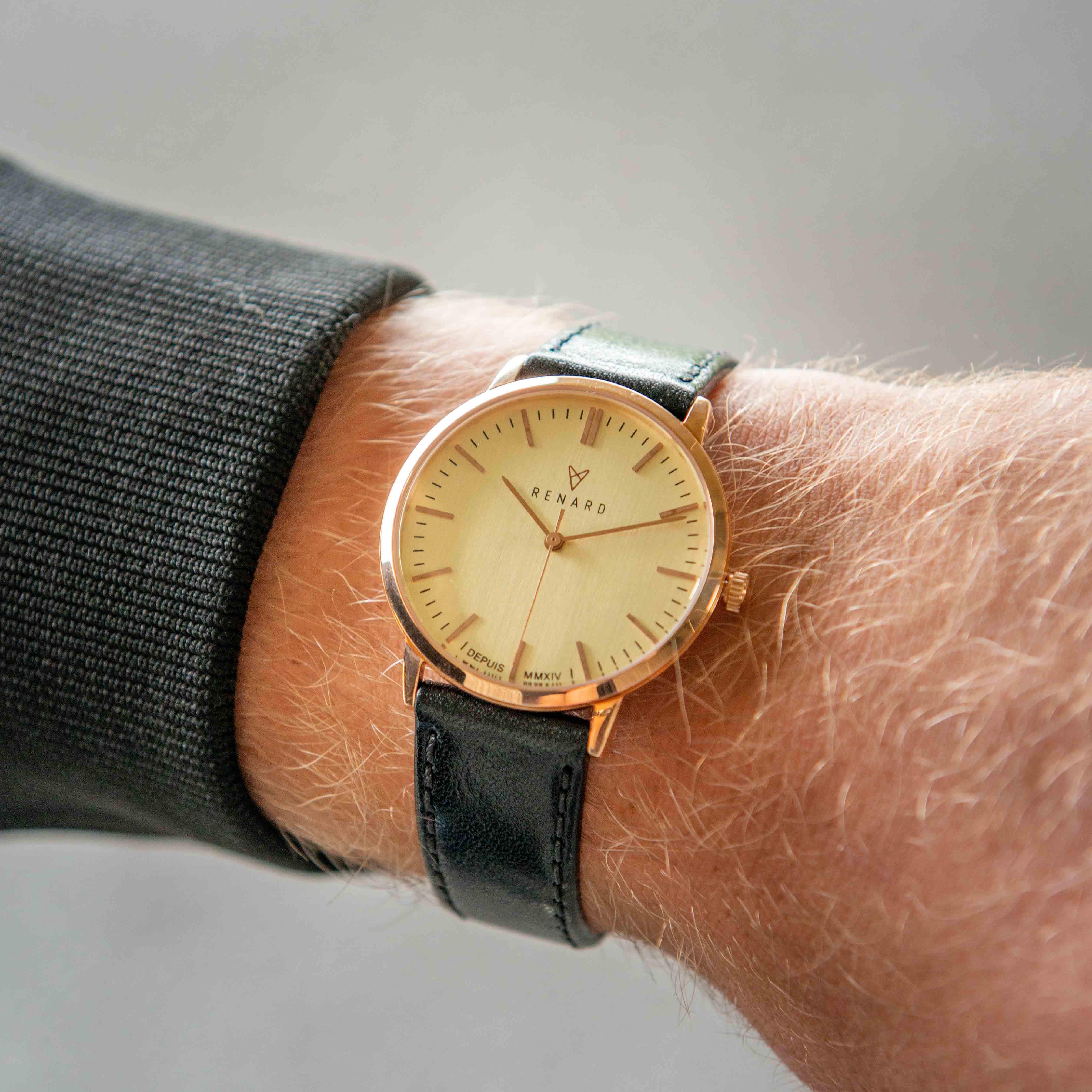 Renard Elite 35.5 horloge RA361RG12VBK