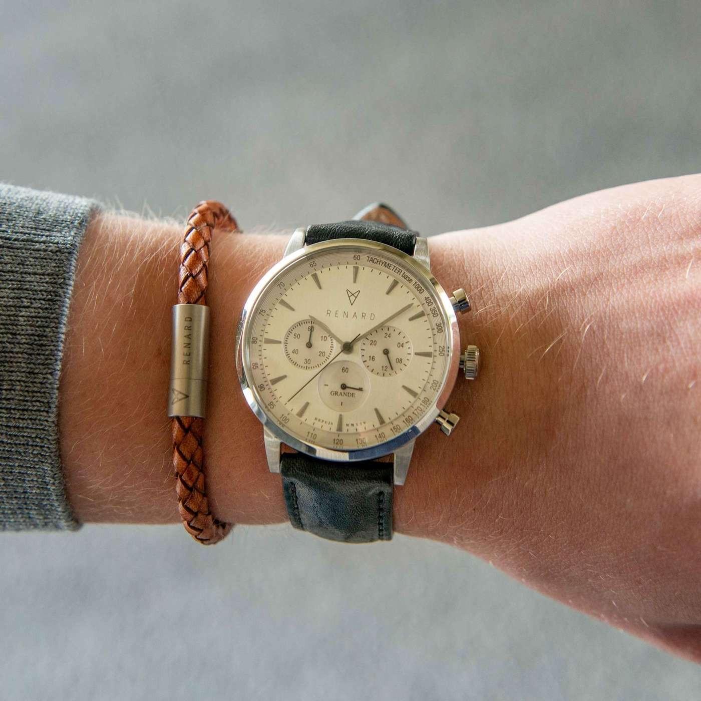 Renard Grande Chrono horloge RC402SS10VBK