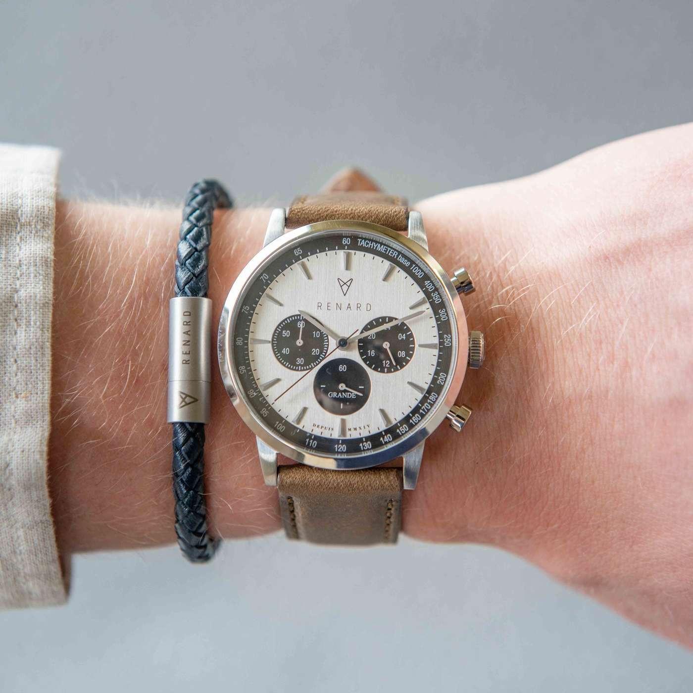 Renard Grande Chrono horloge RC402SS13OGR