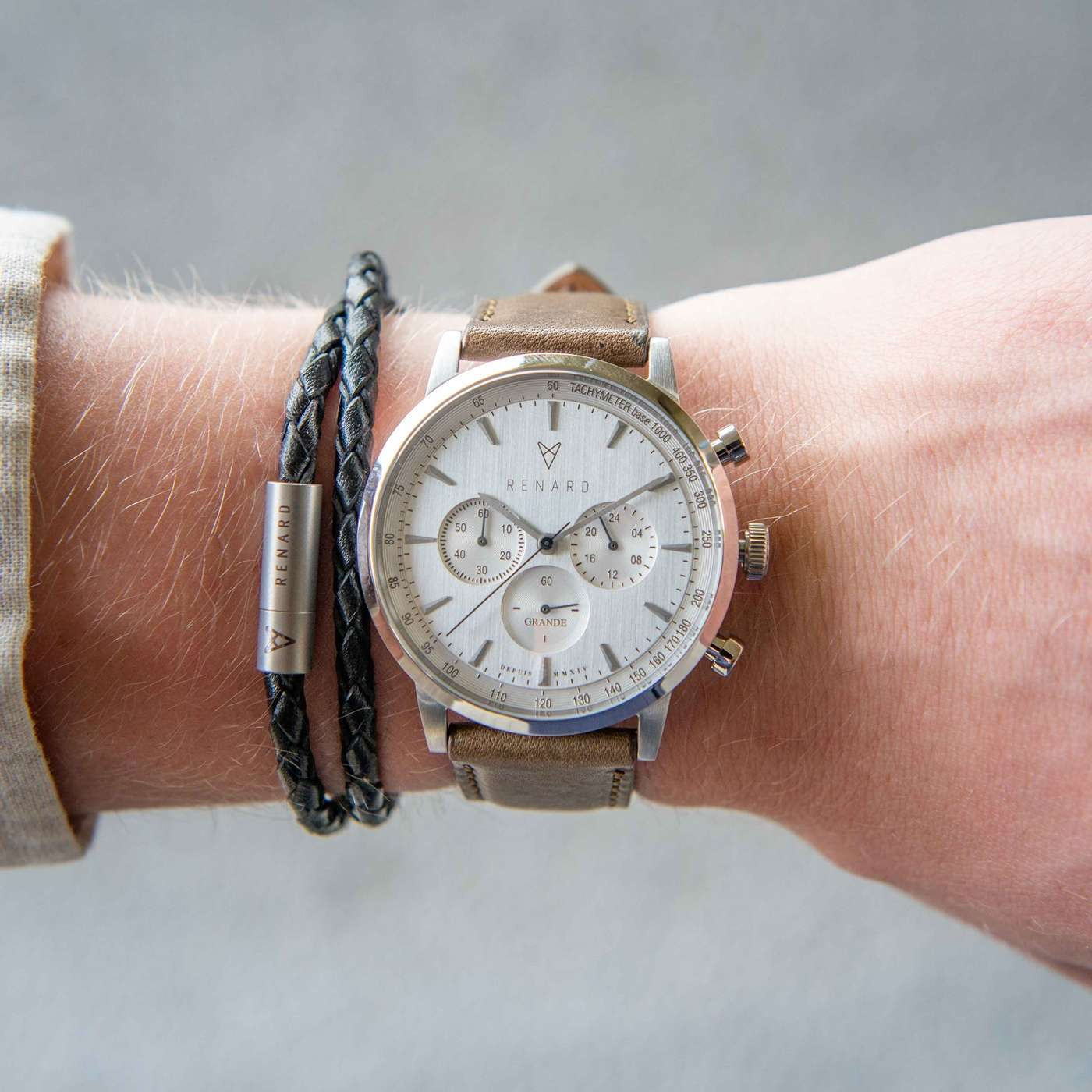 Renard Grande Chrono horloge RC402SS10OGR