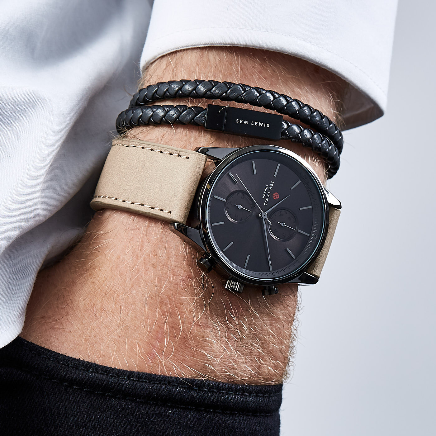 Sem Lewis Metropolitan Finchley Chronograph horloge SL1100004