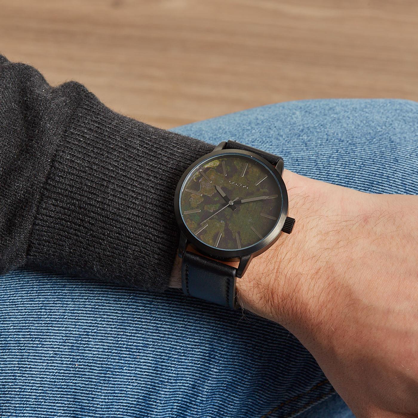 OOZOO Timepieces Zwart horloge C9604 (45 mm)