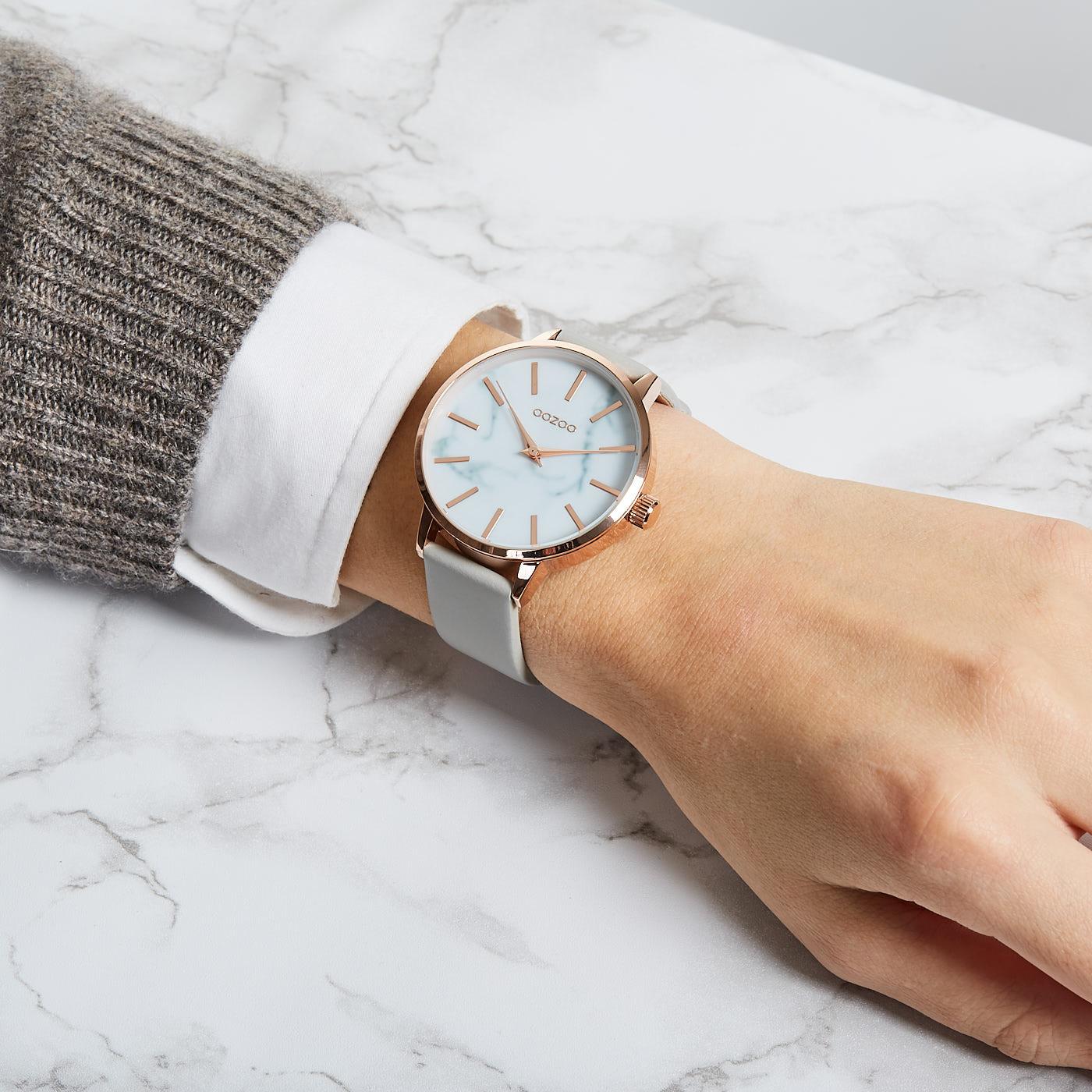 OOZOO Timepieces Grijs C9755 (42 mm)