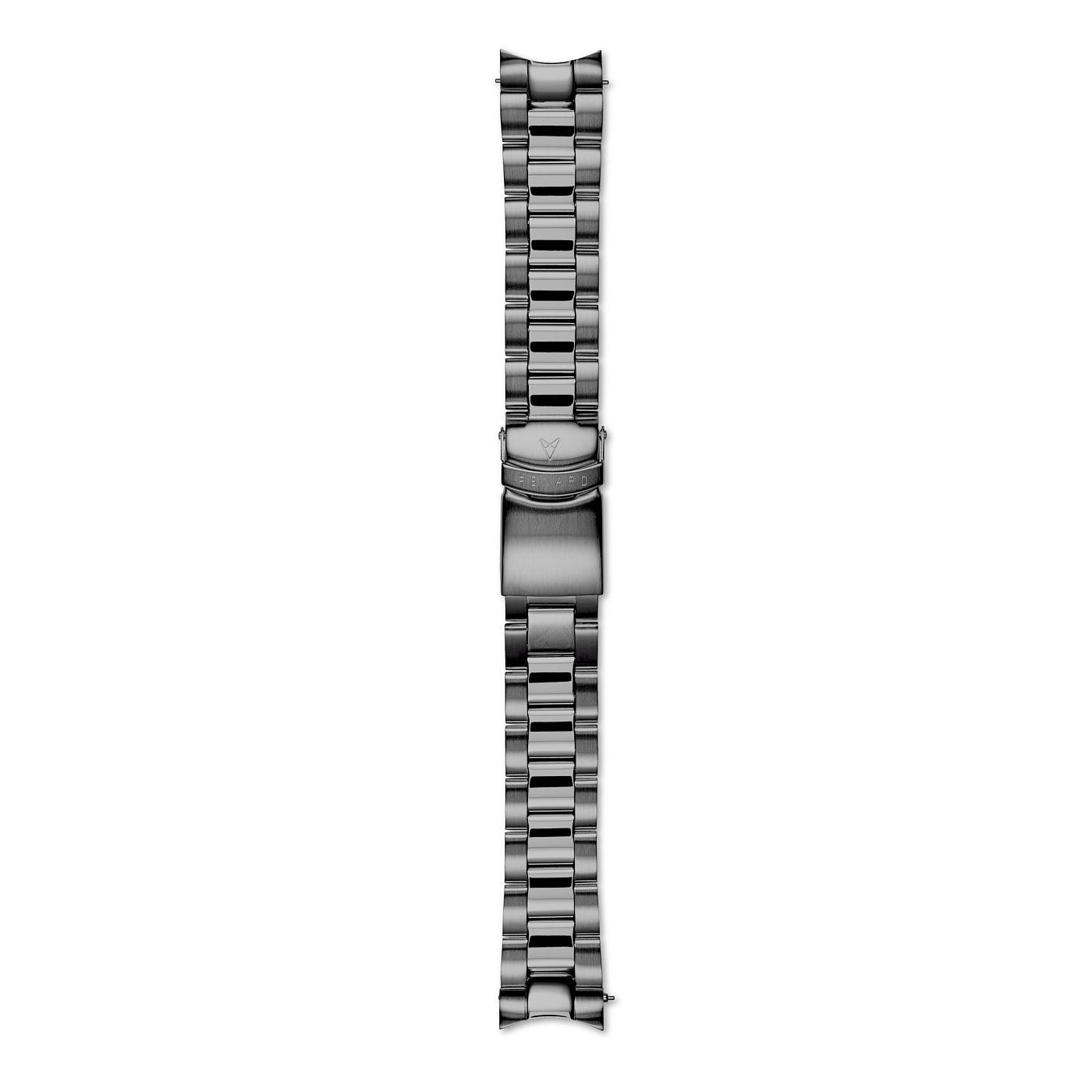 Renard Distingué 40.0 Strap 20mm Gunmetal R20M4GN2