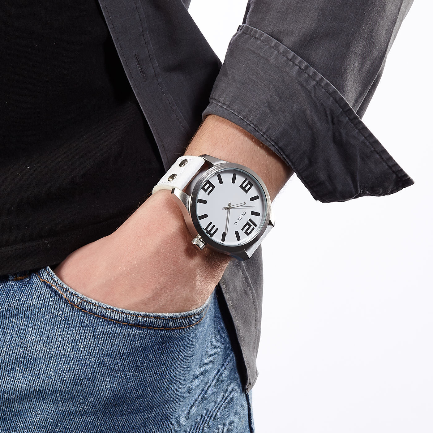 OOZOO Timepieces Wit C1000 (51MM)