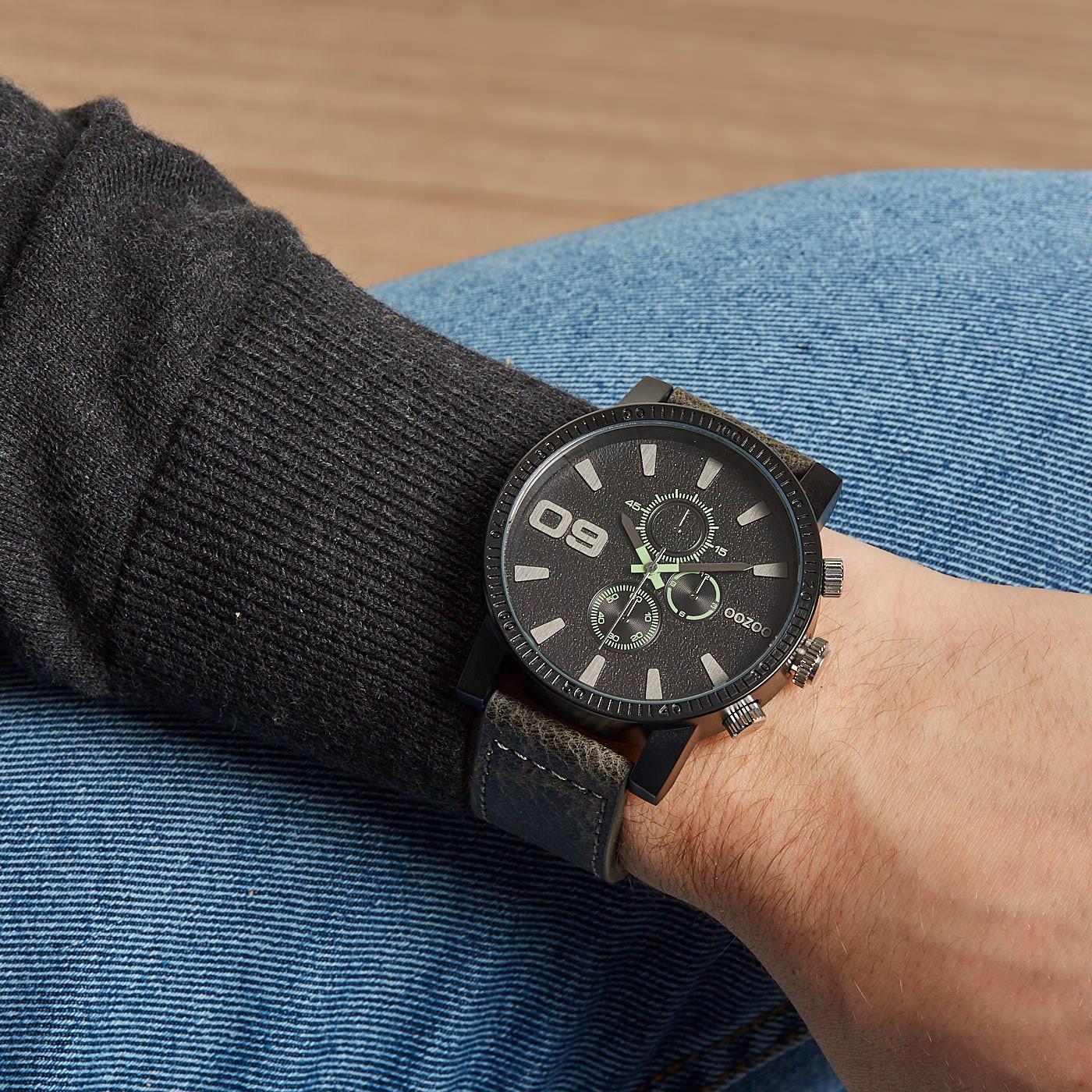 OOZOO Grijs horloge C9031