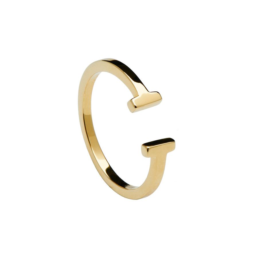 PD Paola Essentials Double Gold Ring AN01-003