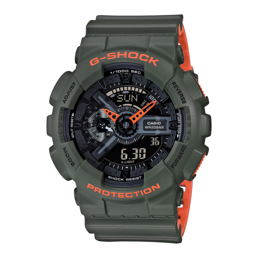 Casio G-Shock Layered Neon Horloge GA-110LN-3AER
