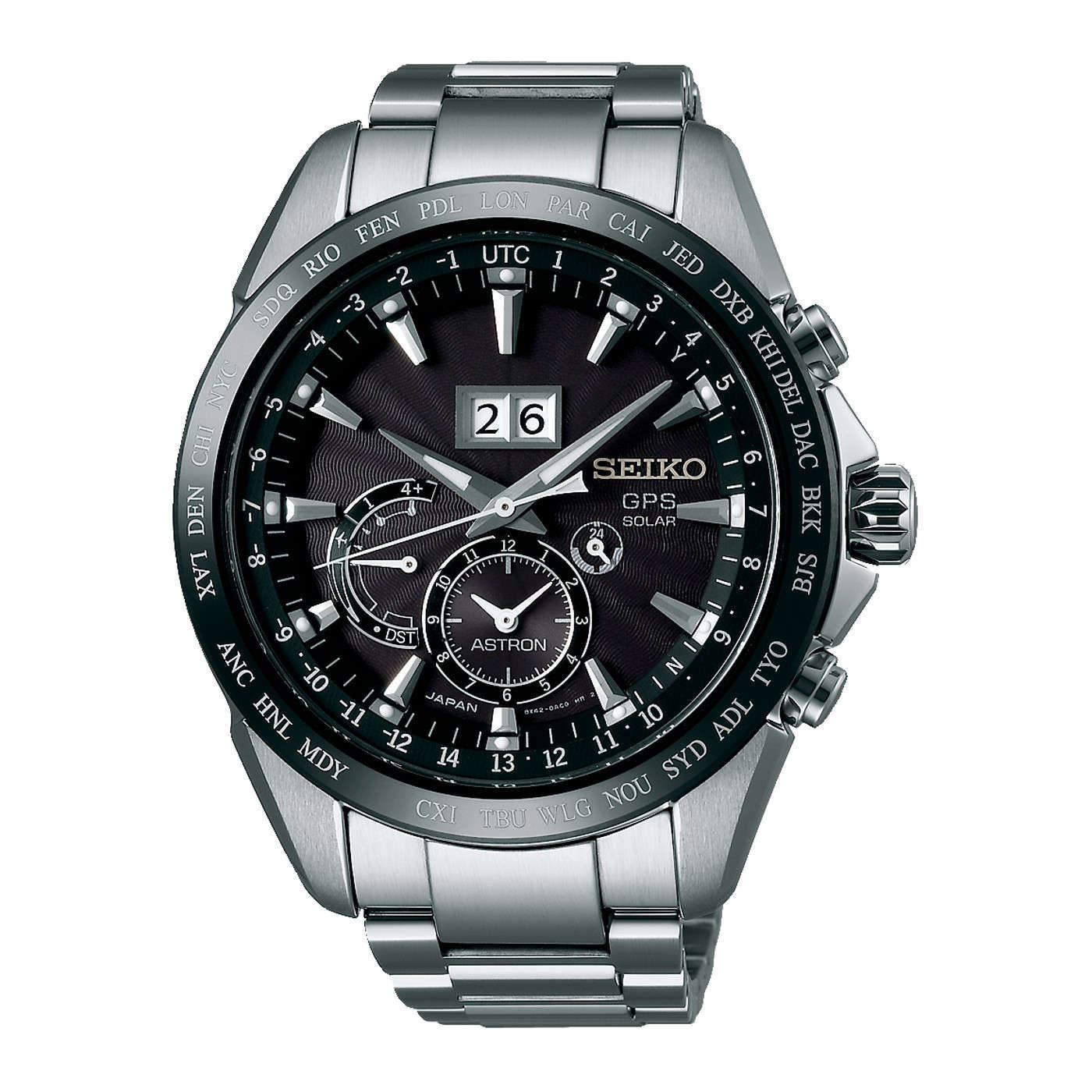 Seiko Astron Solar Chronograaf horloge SSE149J1