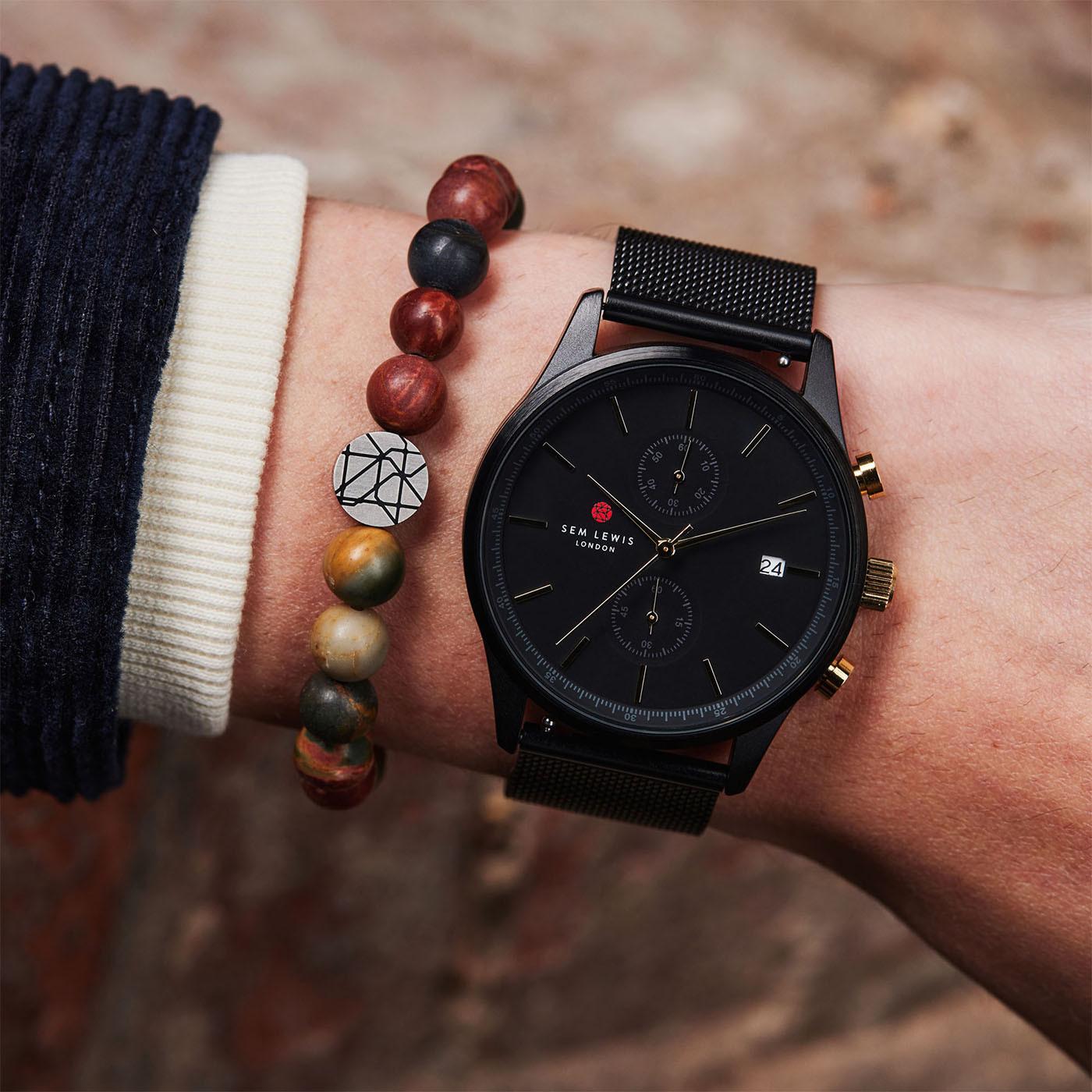Sem Lewis Metropolitan Northwick Park Chronograph horloge SL1100023