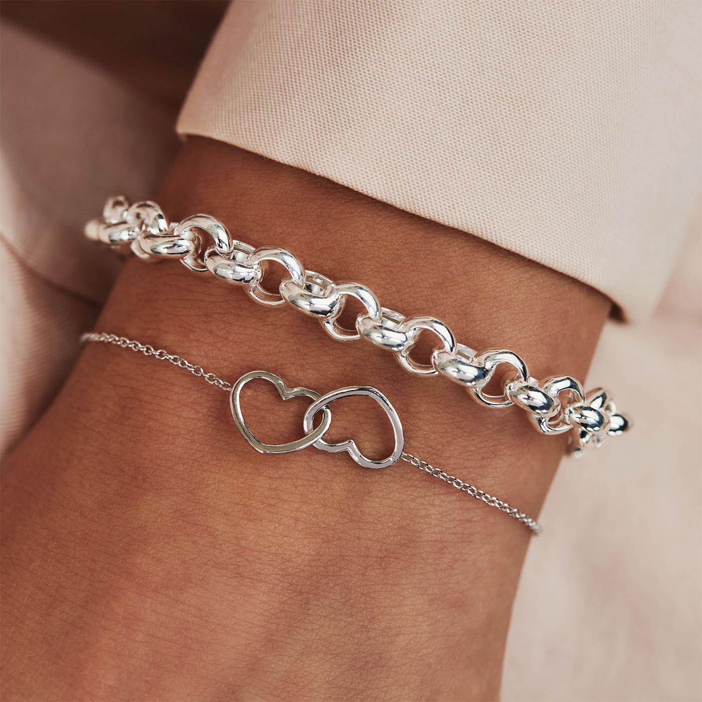 Selected Jewels Aimée 925 sterling zilveren armband SJSS19037
