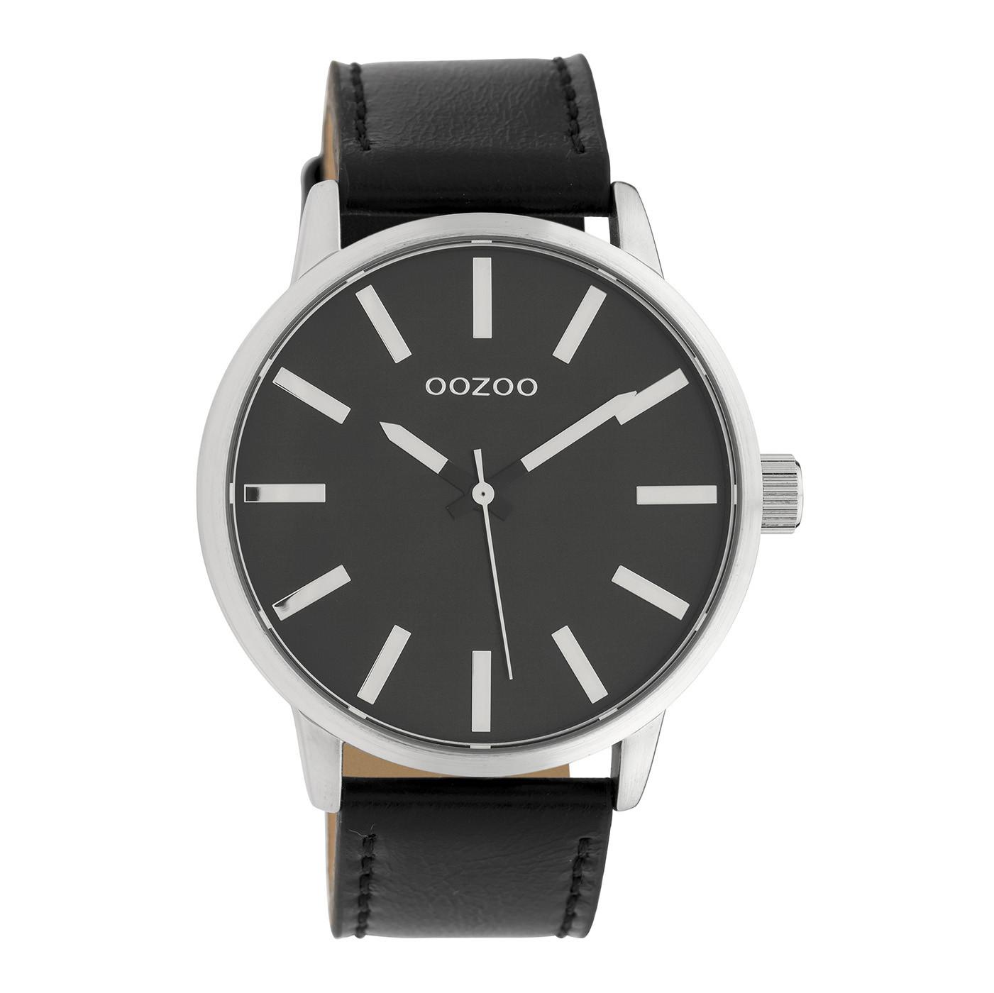 OOZOO Timepieces Zwart horloge C10034 (45 mm)