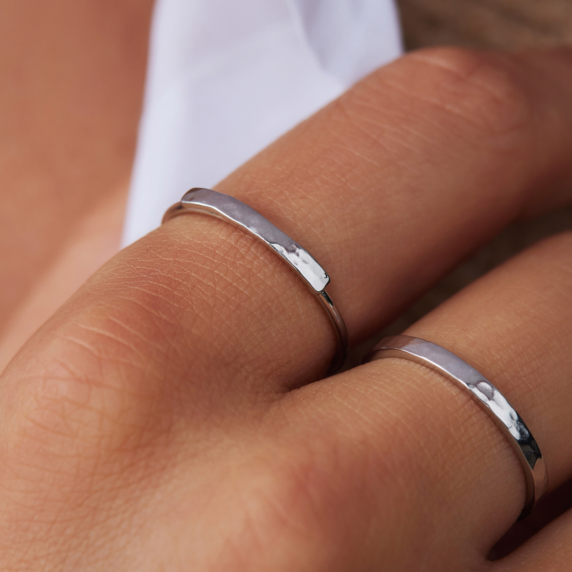 Violet Hamden Sisterhood Moonscape 925 Sterling Zilveren Ring VH33004