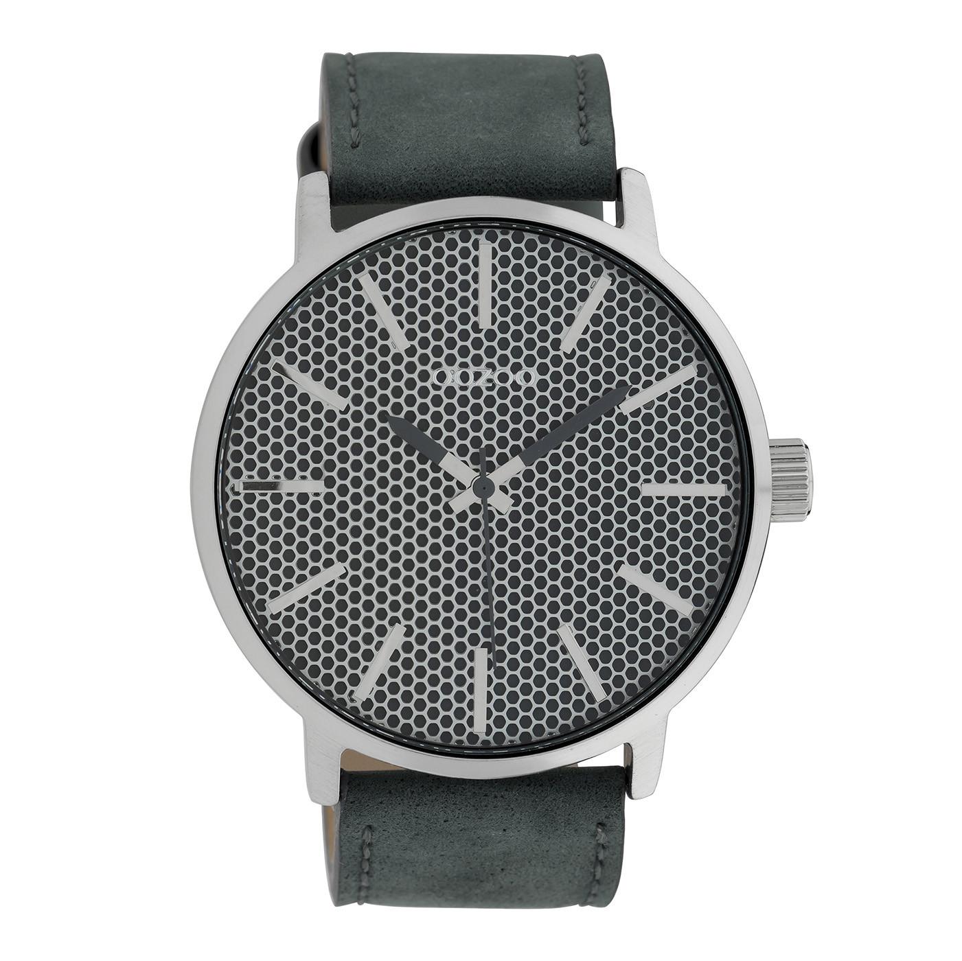 OOZOO Timepieces Blauw horloge C10038 (48 mm)