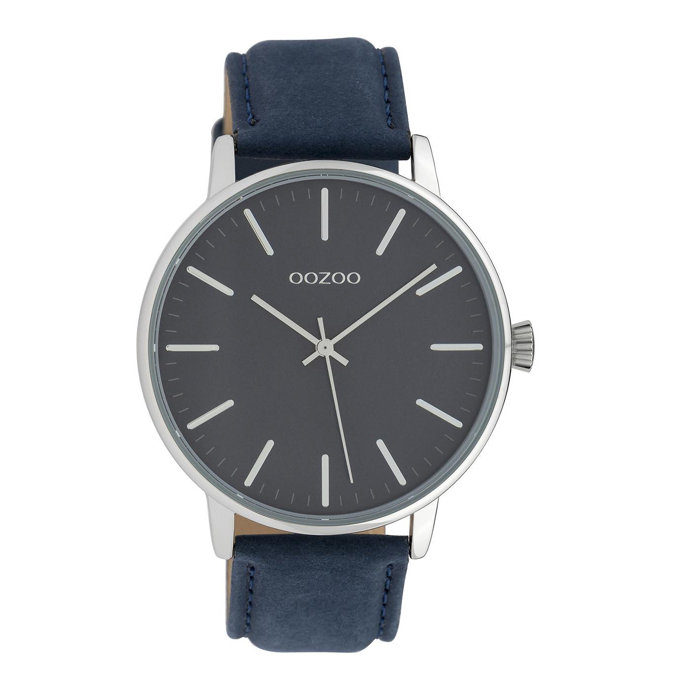 OOZOO Timepieces Blauw horloge C10044 (42 mm)